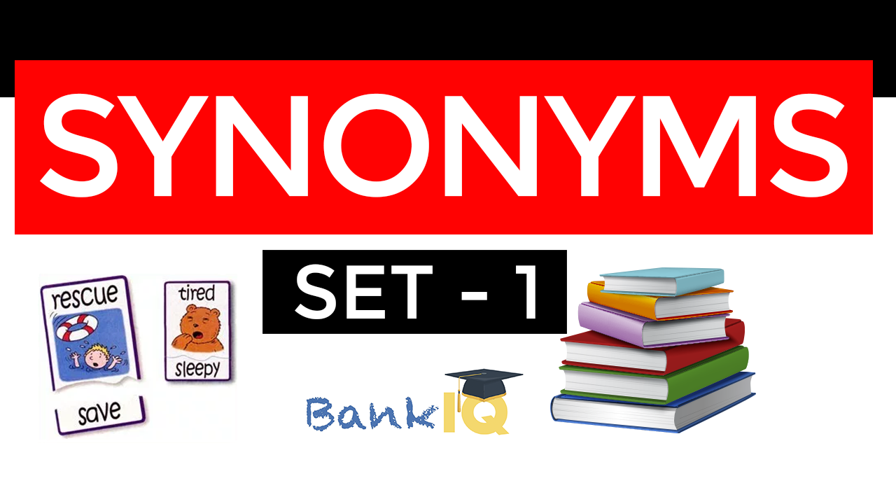 synonyms set bank iq Set - 1